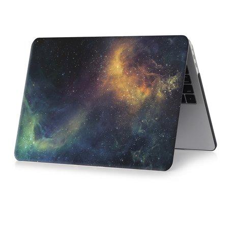 MacBook Pro 16 inch case - Green stars