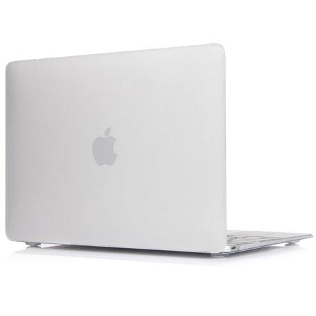 MacBook Air 13 inch - Touch id versie - transparant mat (2018, 2019 & 2020)