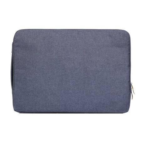 13 inch sleeve met extra vak - Donker blauw
