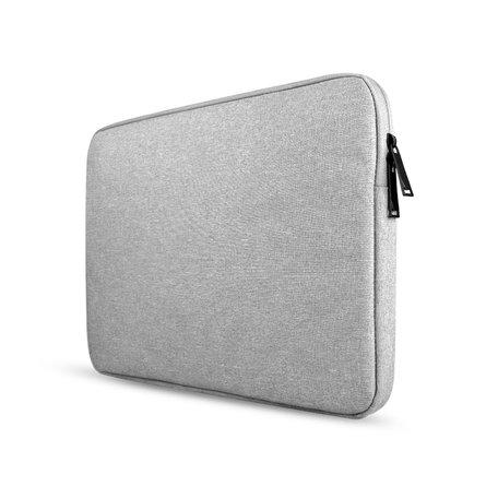 15 inch sleeve - grijs