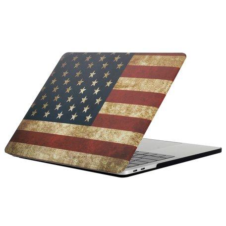 MacBook Pro retina touchbar 13 inch case - VS flag