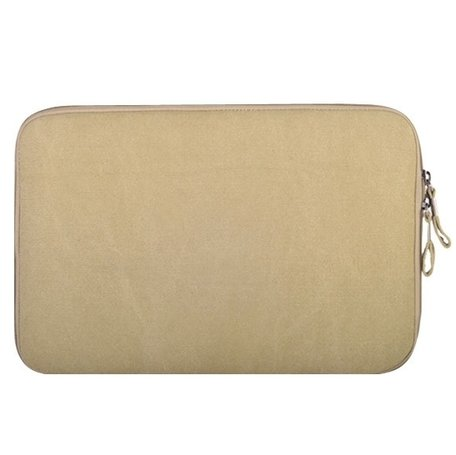 POFOKO 15.4 inch denim sleeve - Beige