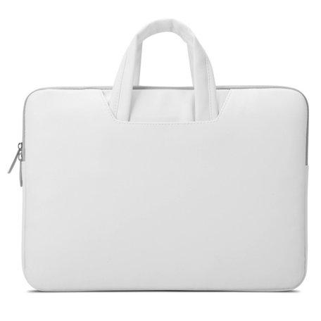 POFOKO 15.4 inch laptoptas - Wit