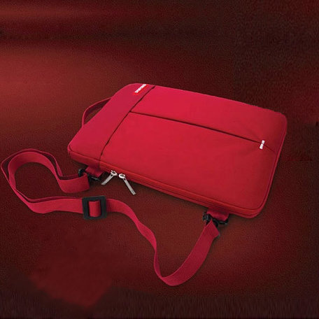 POFOKO 11.6 inch portable laptoptas - Rood