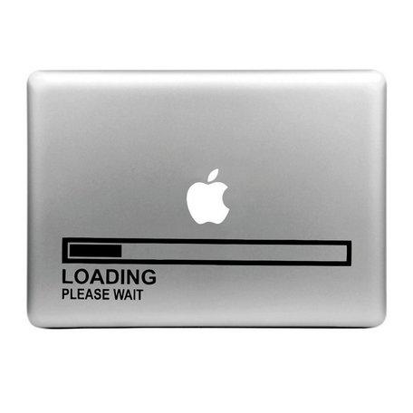 MacBook sticker - loading
