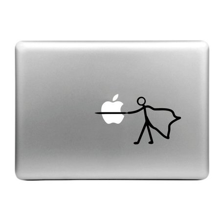 MacBook sticker - ridder
