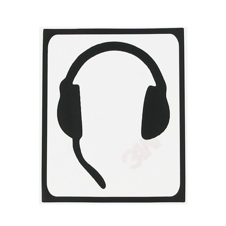 MacBook sticker - Apple headphone