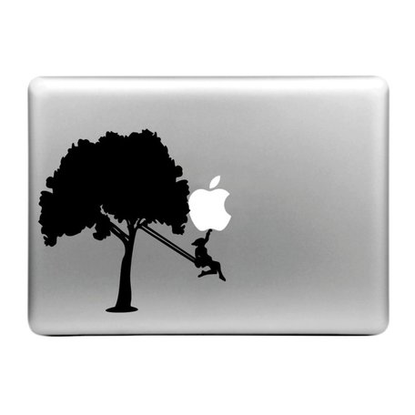 MacBook sticker - Boom schommel