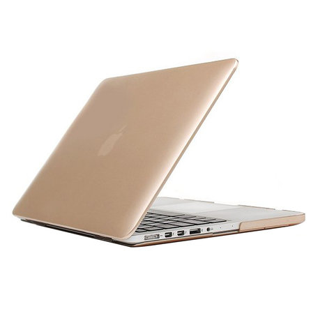 MacBook Pro Retina 15 inch cover - Goud