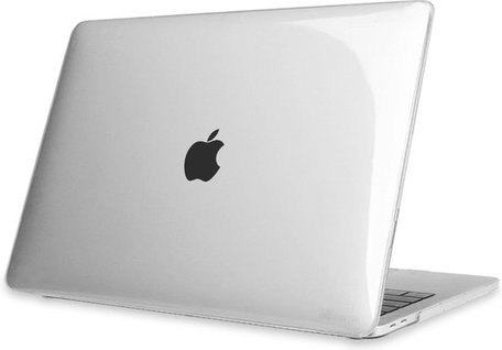 MacBook Pro Touchbar 13 inch case - 2020 model - Transparant (clear)