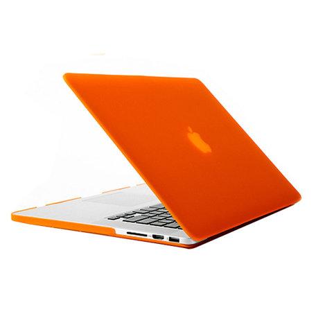 MacBook Pro Retina 13 inch cover - Oranje