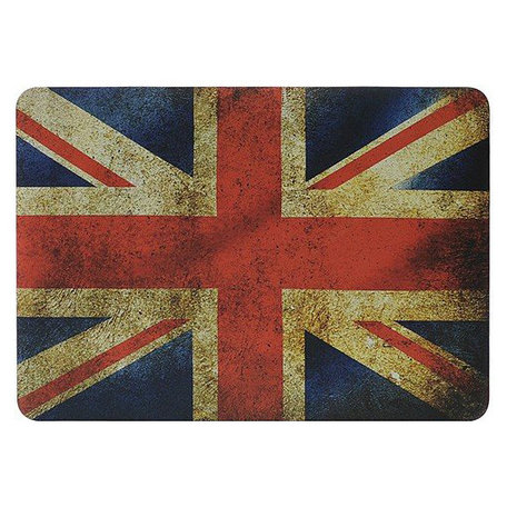 MacBook Pro Retina 13 inch cover - Retro UK flag
