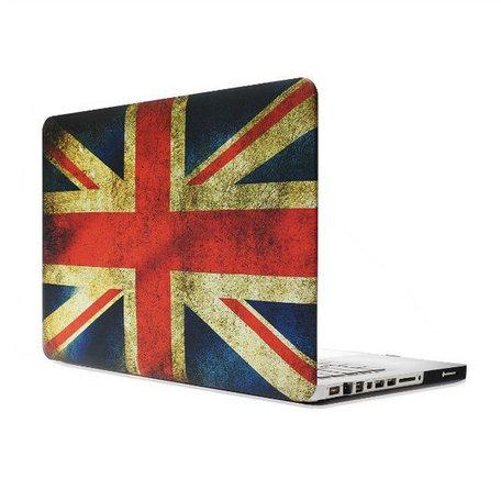 MacBook Pro 15 inch cover - Retro UK flag