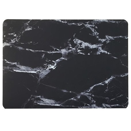 MacBook Pro 15 inch case - Marble - zwart