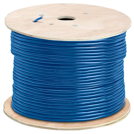 305M CAT6E Koperen Ethernet netwerk LAN kabel (1000Mbps) - Blauw