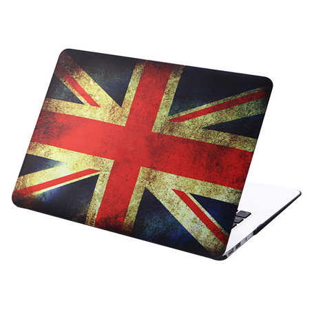 MacBook Air 11 inch cover - Retro UK flag
