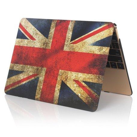 MacBook 12 inch case - Retro UK flag