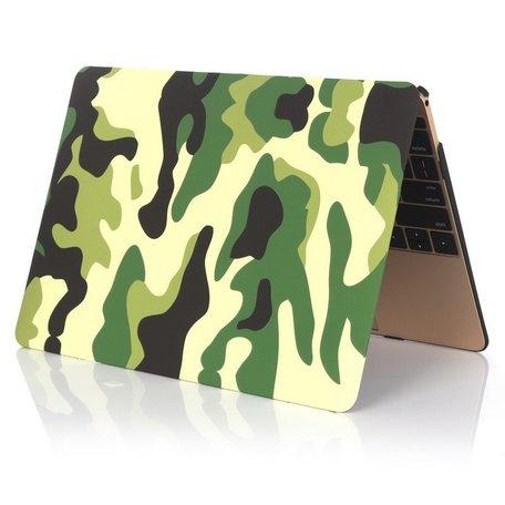 MacBook 12 inch case - Camouflage - Groen