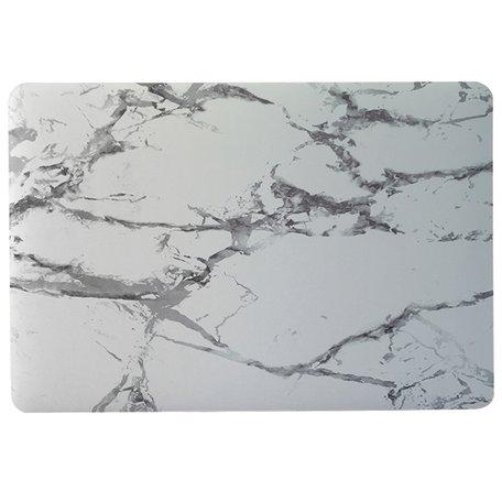 MacBook 12 inch case - Marble - Grijs