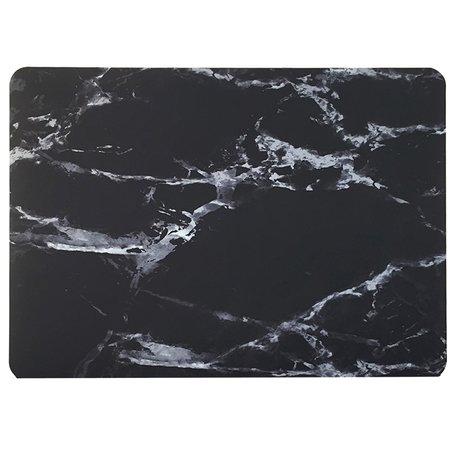 MacBook 12 inch case - Marble - zwart