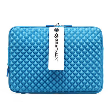 GEARMAX Diamond Grain 13.3 inch Sleeve - Blauw
