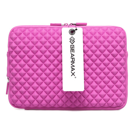 GEARMAX Diamond Grain 15.4 inch Sleeve - Roze