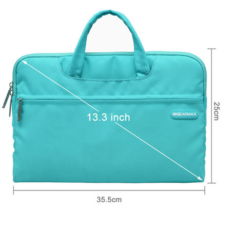 GEARMAX 13.3 inch fashion design laptoptas - Baby blauw
