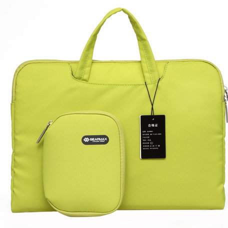 GEARMAX 13.3 inch fashion design laptoptas - Groen