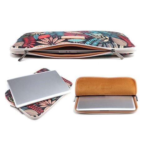 LISEN 13 inch sleeve - Multicolor Grijs