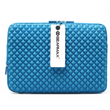 GEARMAX Diamond Grain 15.4 inch Sleeve - Blauw