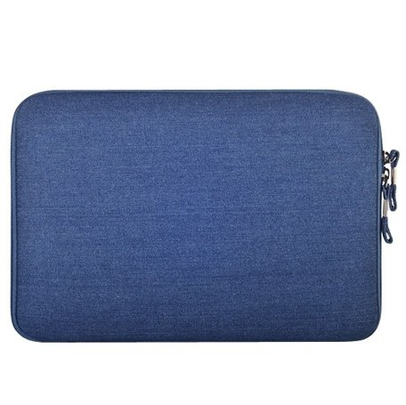 13.3 inch denim sleeve - Blauw