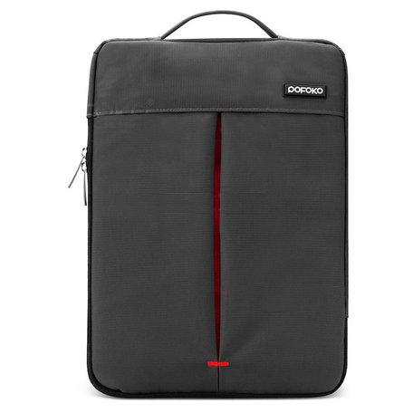 POFOKO 13.3 inch portable laptoptas - Zwart