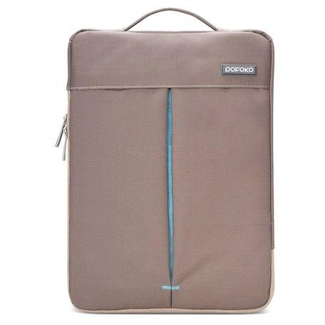 POFOKO 11.6 inch portable laptoptas - Bruin