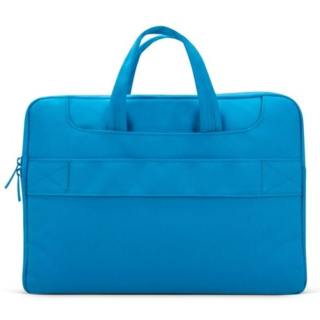 POFOKO 12 inch laptoptas met schouderband - Blauw