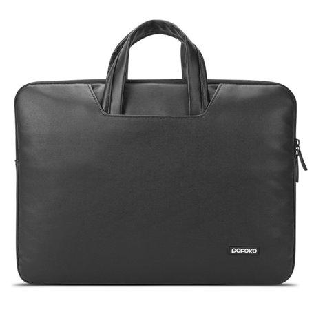 POFOKO 11.6 inch laptoptas - Zwart