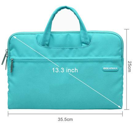 GEARMAX 13.3 inch fashion design laptoptas - Baby blauw