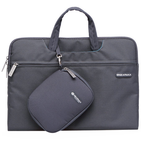 GEARMAX 13.3 inch fashion design laptoptas - Zwart