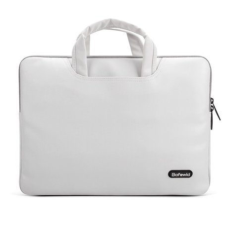 BAFEWLD 13.3 inch laptoptas - Wit