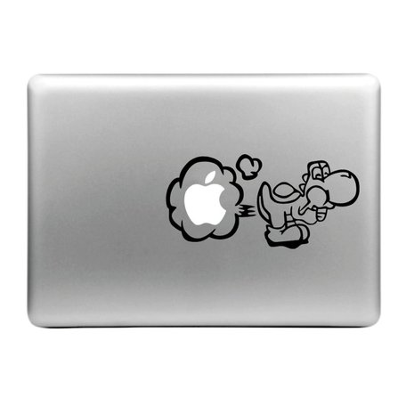MacBook sticker - Yoshi