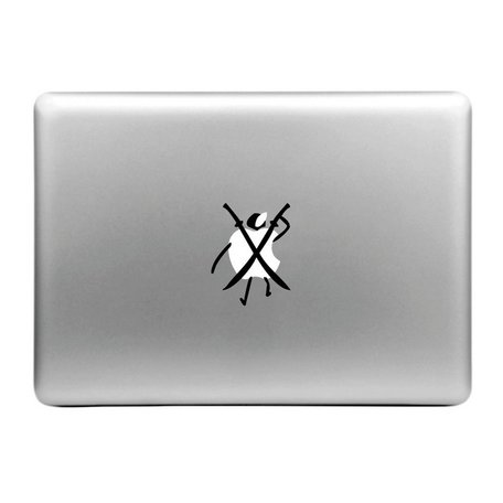 MacBook sticker - ninja apple