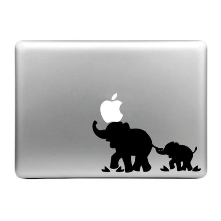 MacBook sticker - Olifant