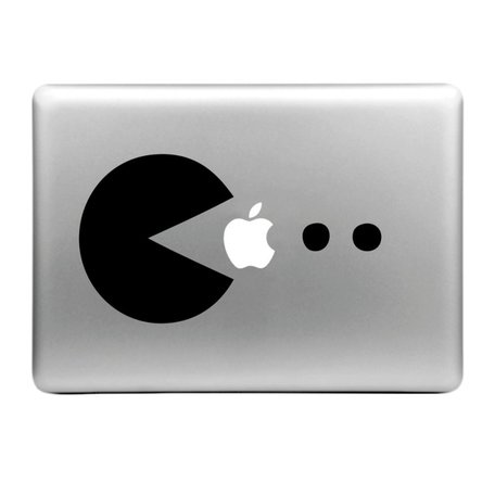 MacBook sticker - Pac Man