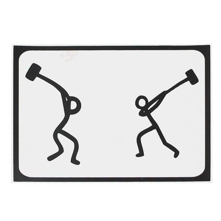 MacBook sticker - Hammer