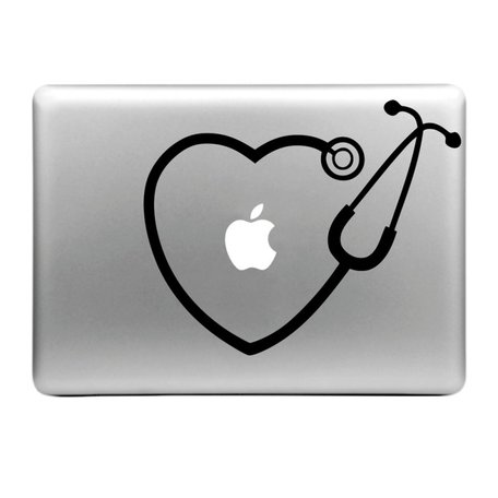 MacBook sticker - Hartje
