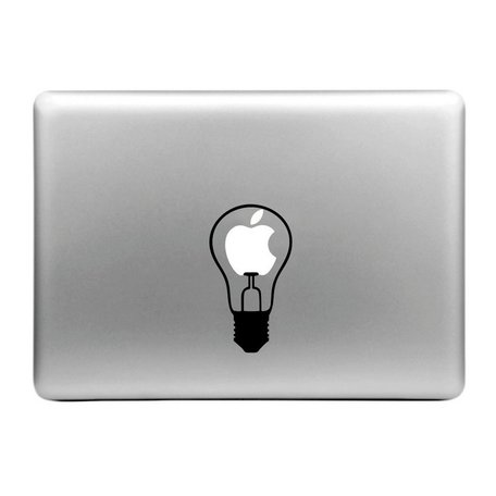 MacBook sticker - kleine lamp