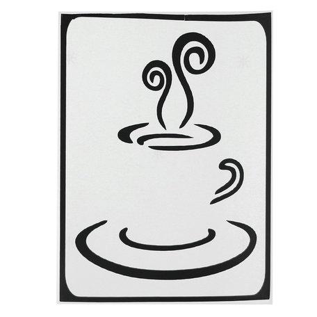 MacBook sticker - koffiekopje