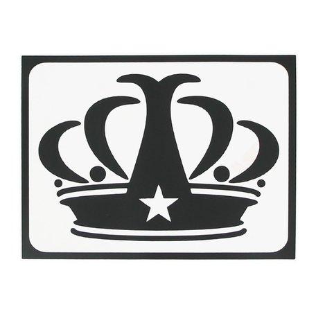 MacBook sticker - Kroon