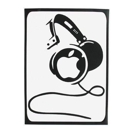 MacBook sticker - DJ headphone