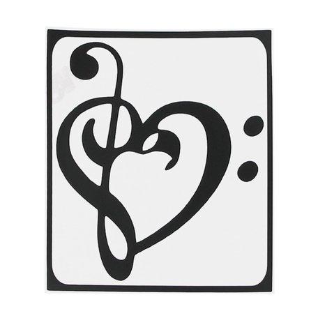 MacBook sticker - Art heart