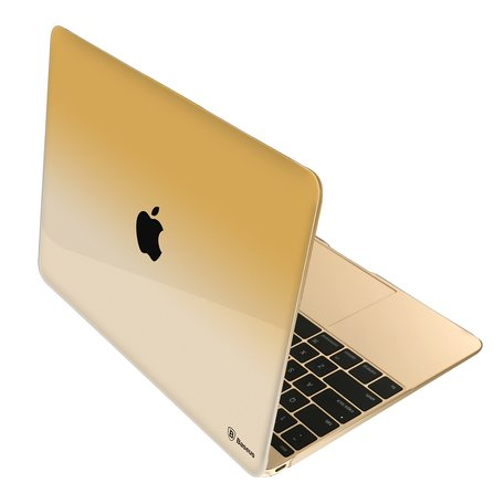 Baseus MacBook 12 inch case gradient - Goud